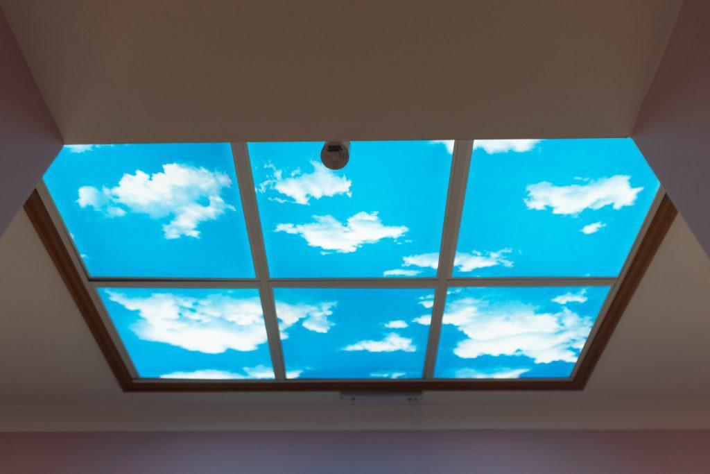 Blue sky reception