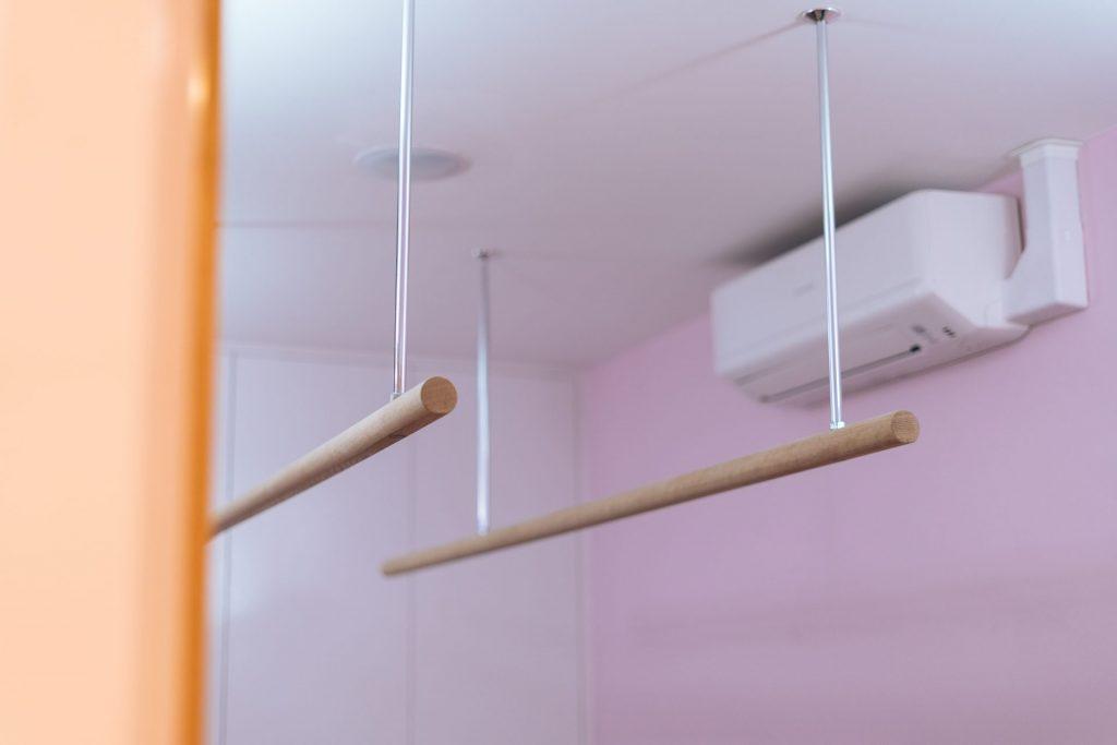 Ceiling rails Air Conditioning