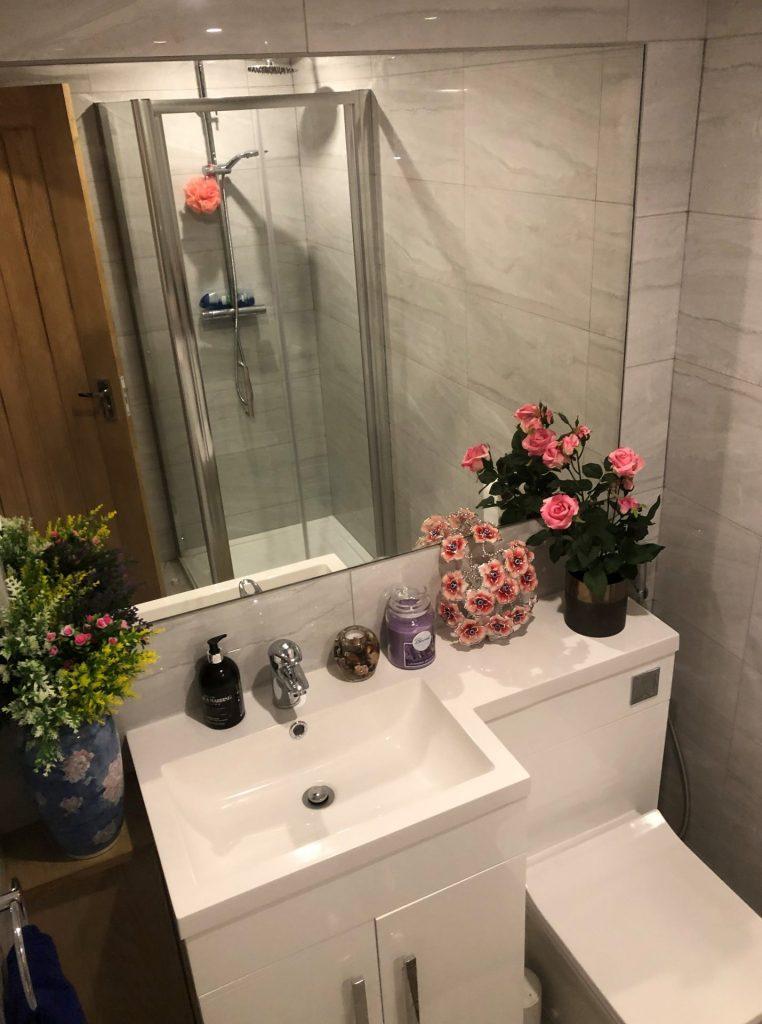 Wash Basin Shower Room